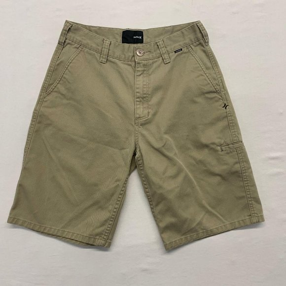 Hurley Other - Hurley Beige Shorts Men's Size 29 Cotton/Polyester